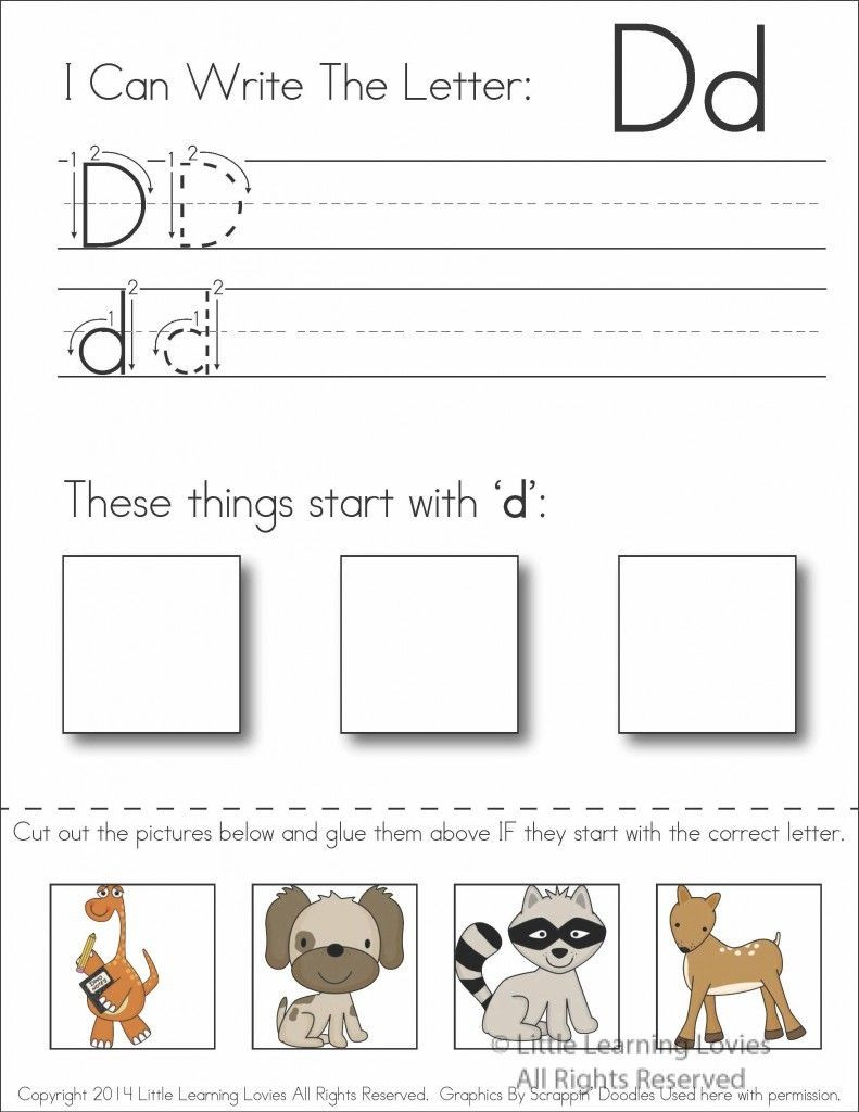 Printable Cut and Paste Worksheets Pin Writing Activities In My Letter Cut and Paste