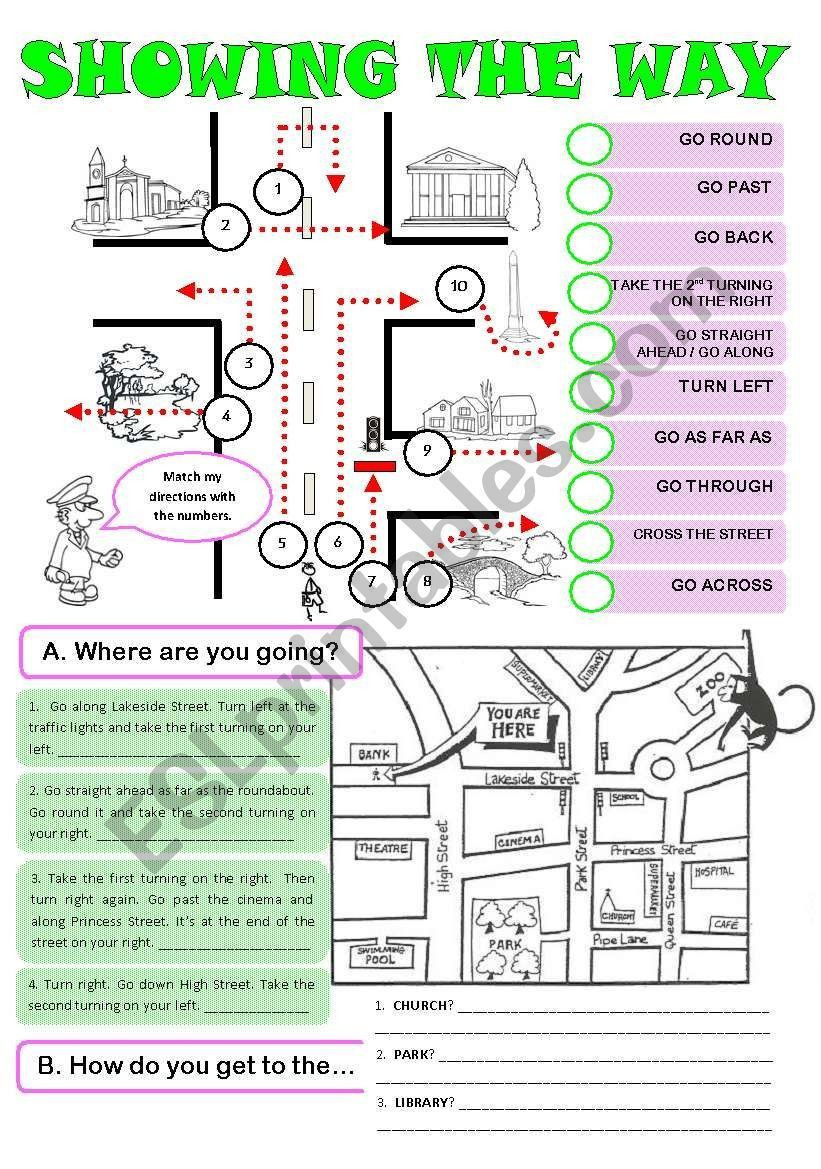 Printable Following Directions Worksheet 6 Worksheets Following Instructions In 2020