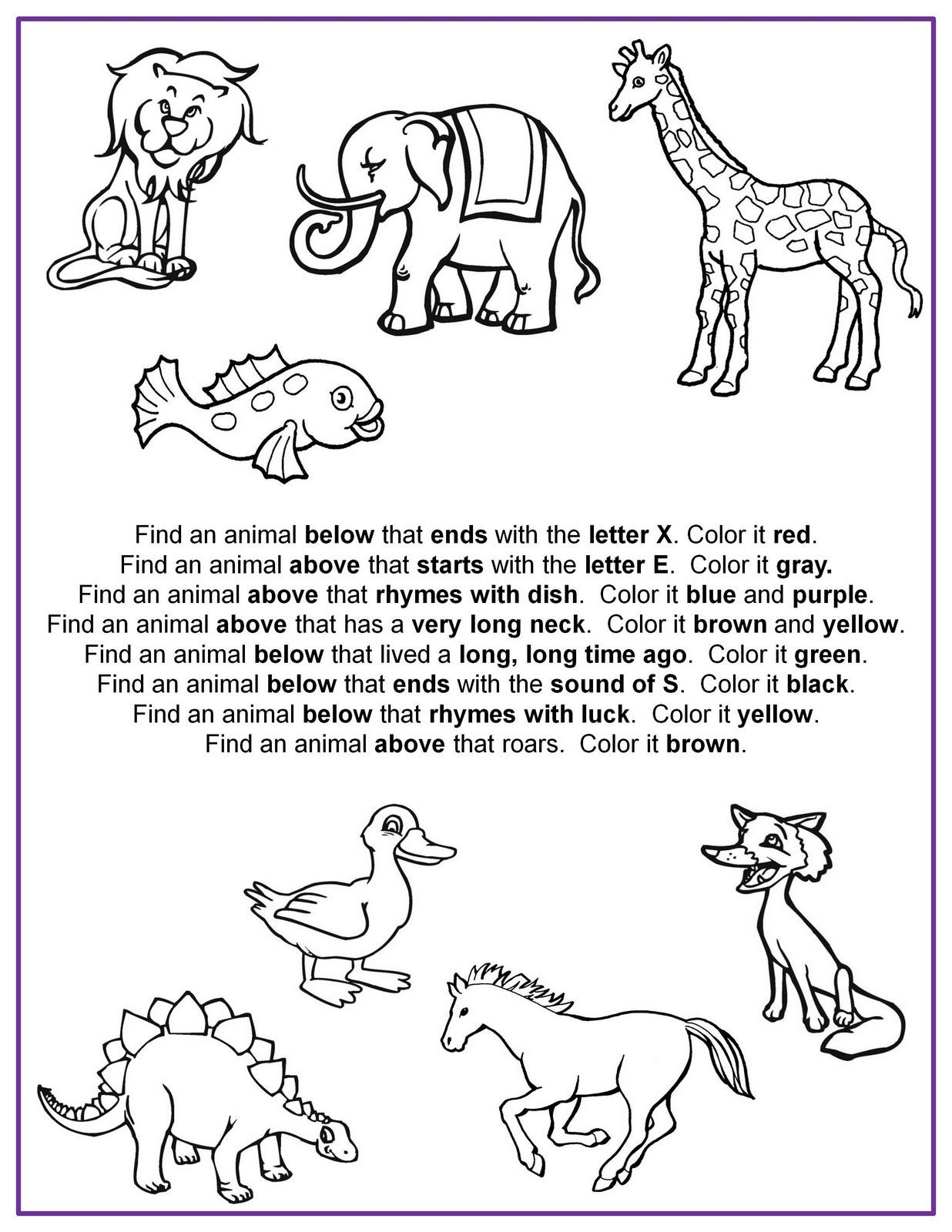 Printable Following Directions Worksheets Following Directions Worksheets for Kids Tsmusicbox