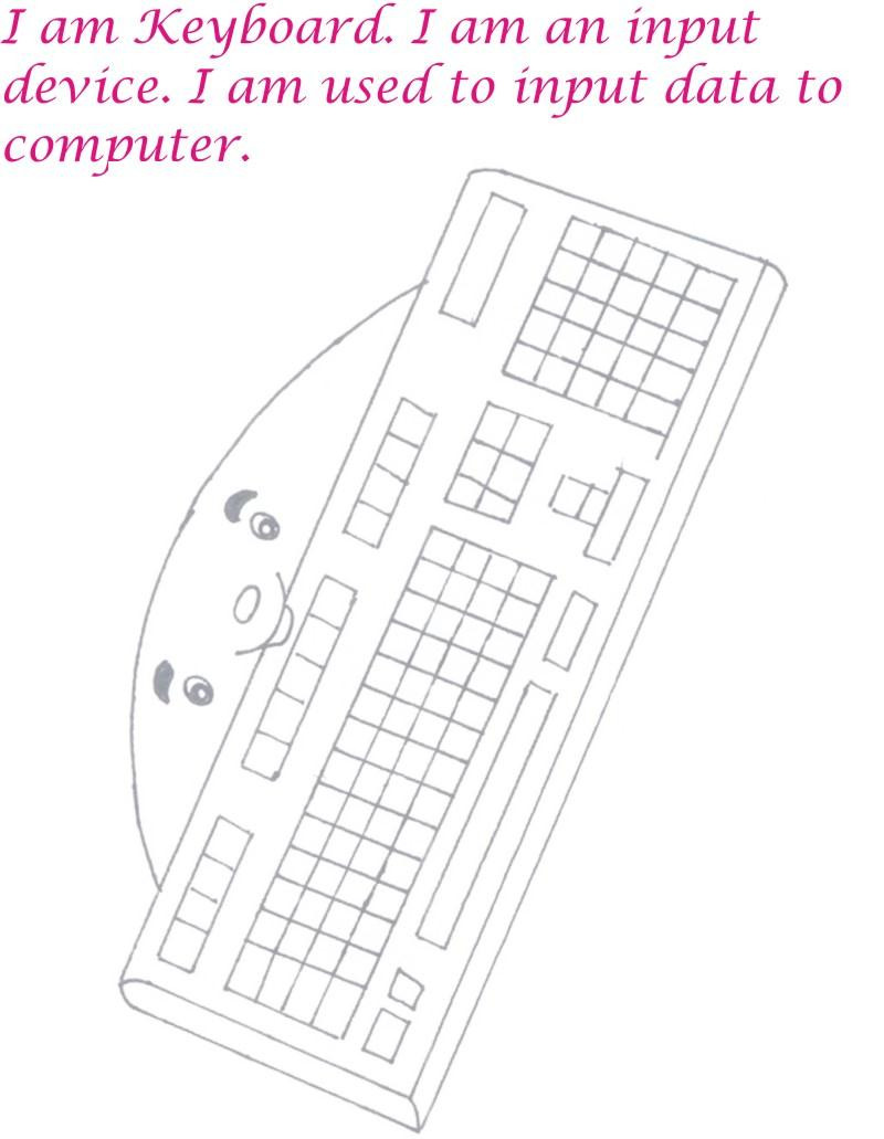 Printable Keyboarding Worksheets Coloring Pages Keyboard Page Printable Awesometer Mechanical