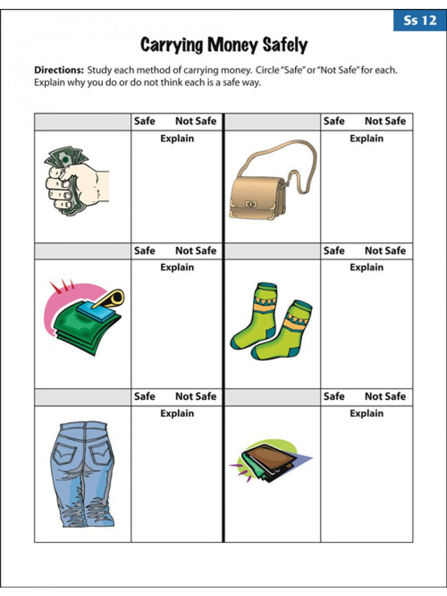Printable Life Skills Worksheets Amusing Empowered by them Life Skills Worksheets to