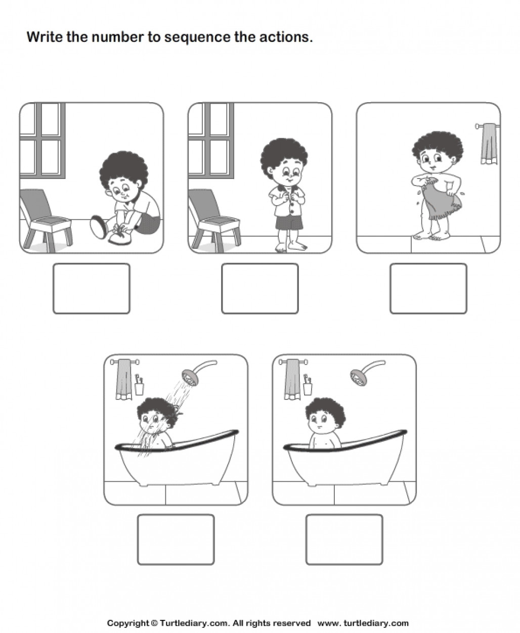 Printable Sequence Worksheets New Sequencing events Worksheet