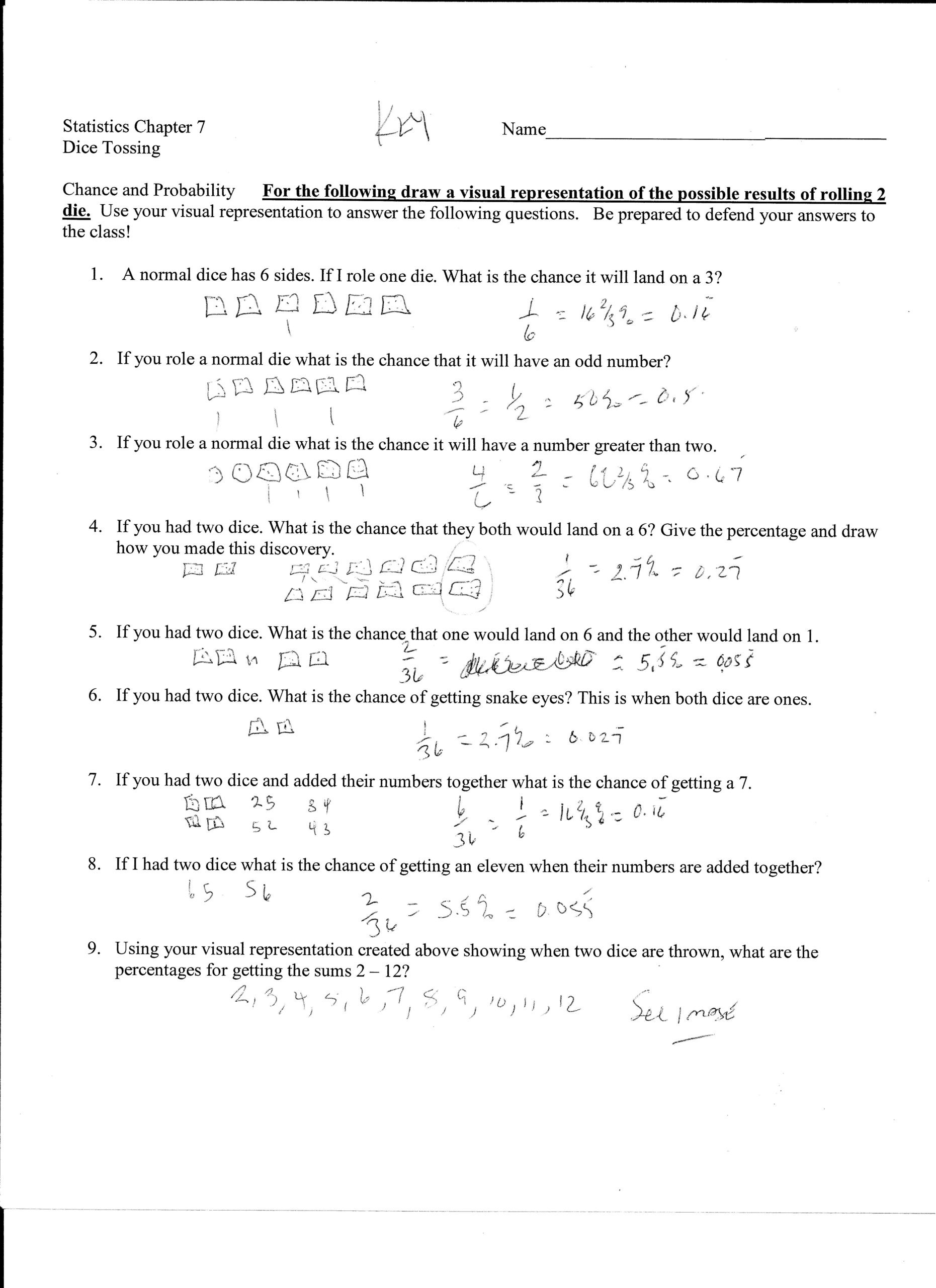 Probability Worksheet 5th Grade Worksheet Works Probability Word Problems Kids Activities