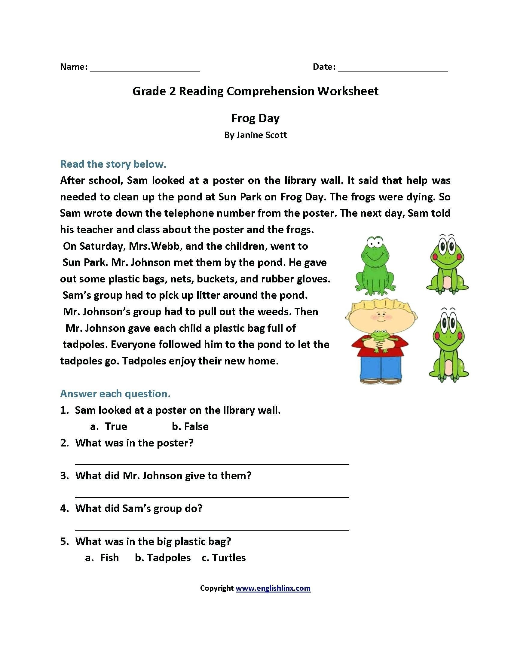 Reading Worksheets 5th Grade 4 Worksheet Reading Prehension Worksheets Fifth Grade 5
