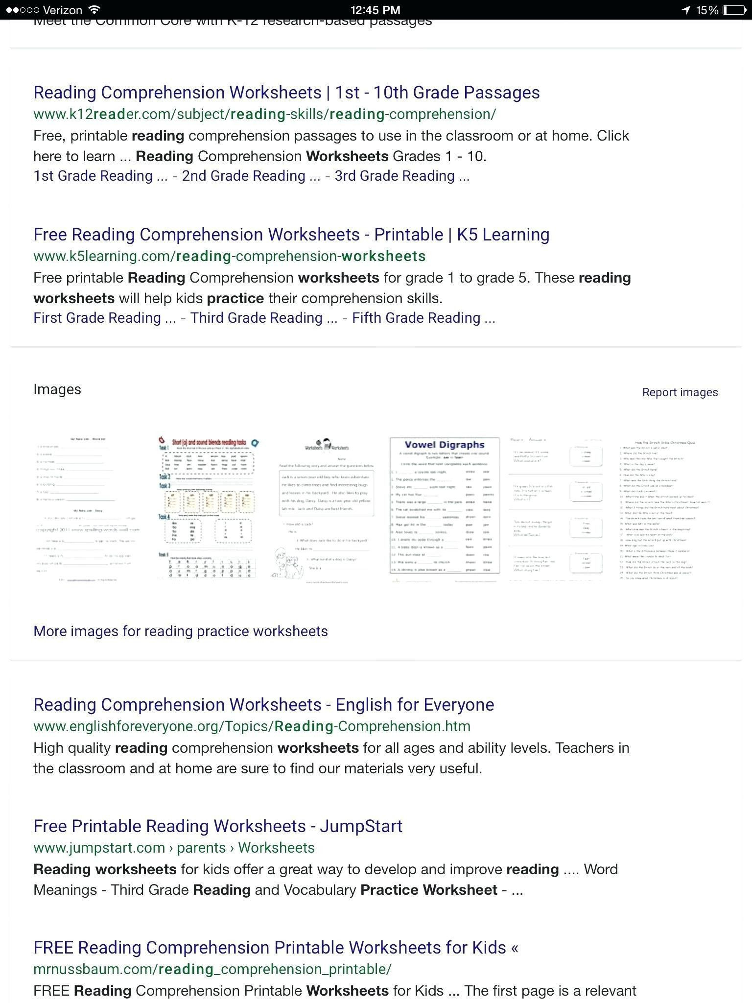 Reading Worksheets Grade 5 Reading Worksheets for 3rd Graders Free Printable