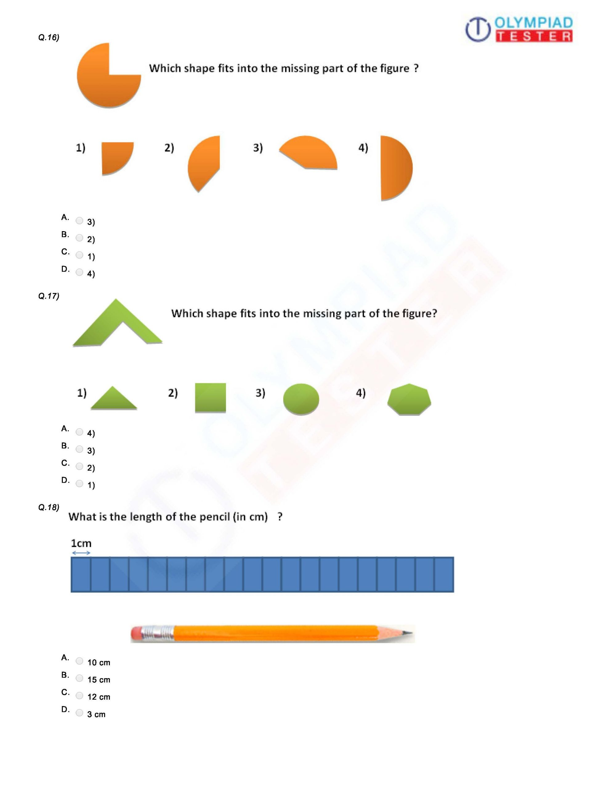 Reasoning Worksheets for Grade 1 Worksheet for Class 1 Math Kvs