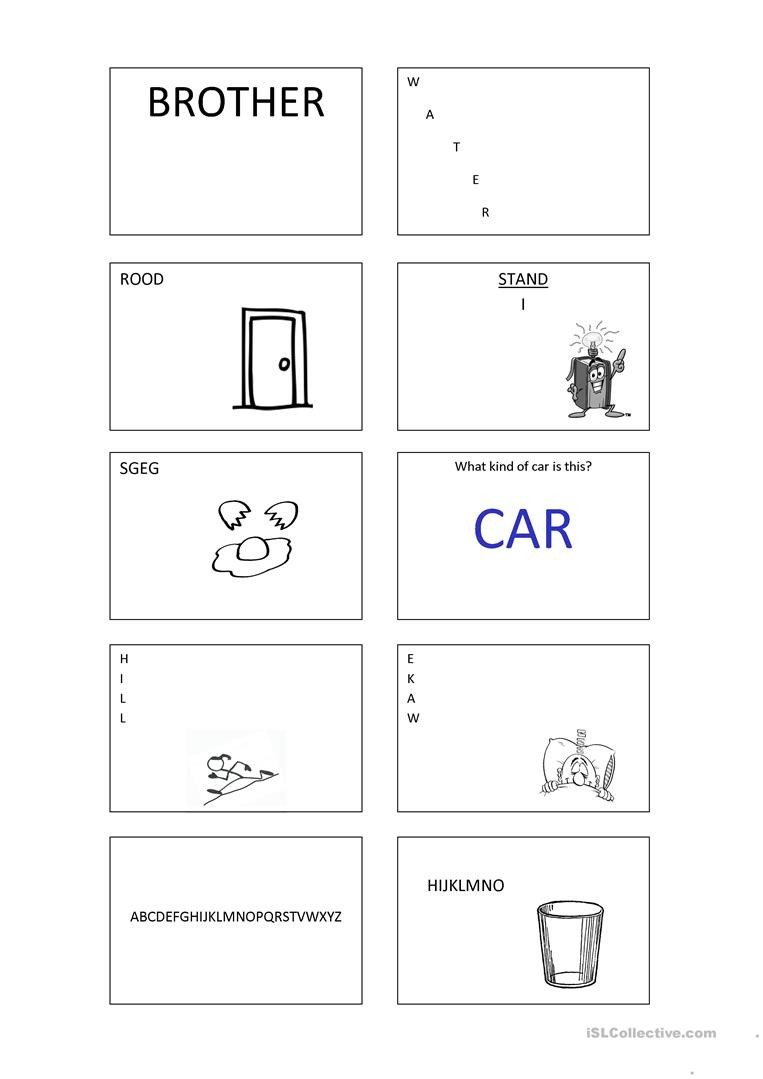 Rebus Puzzles for Middle School Rebus English Esl Worksheets for Distance Learning and