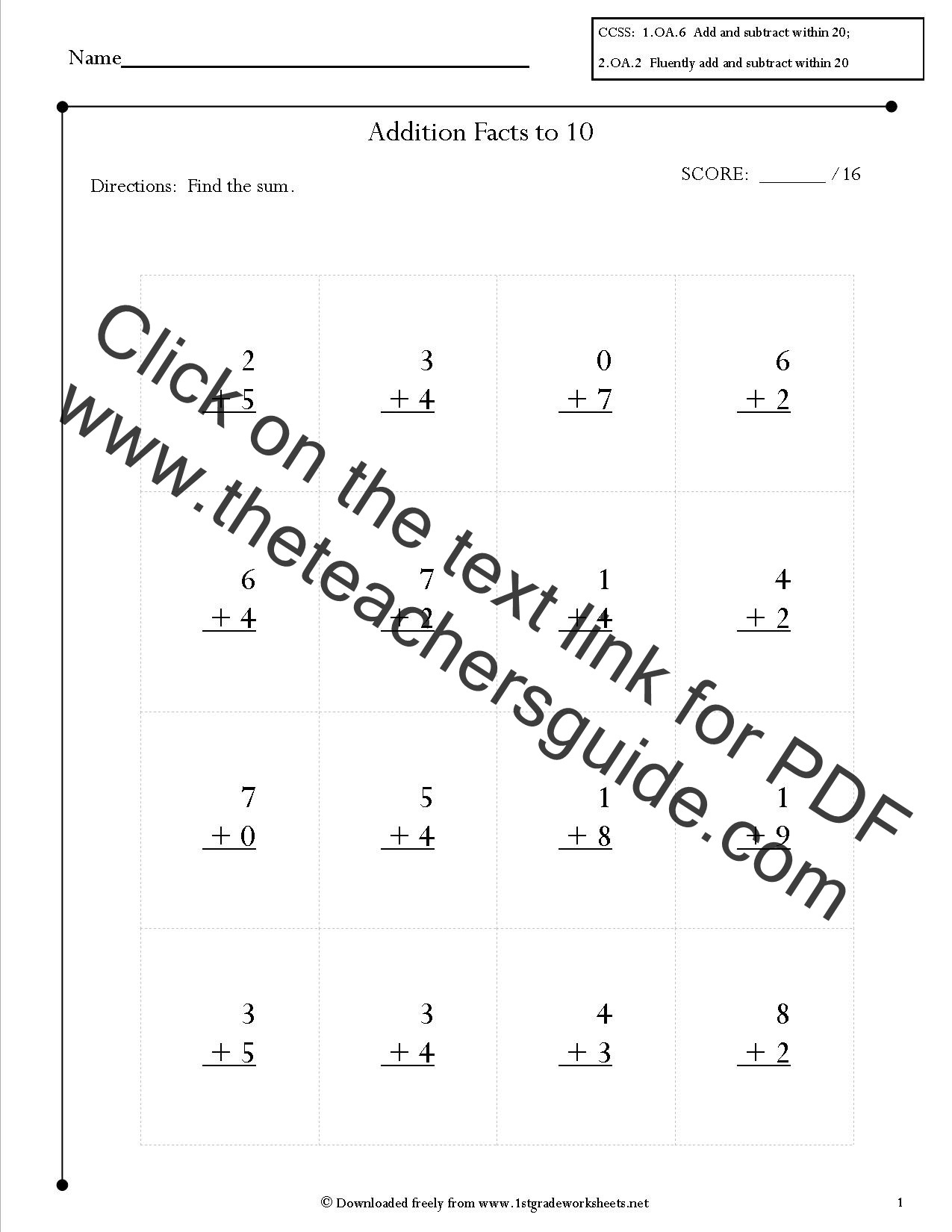 Repeated Addition Worksheets 2nd Grade 2nd Grade Math Mon Core State Standards Worksheets