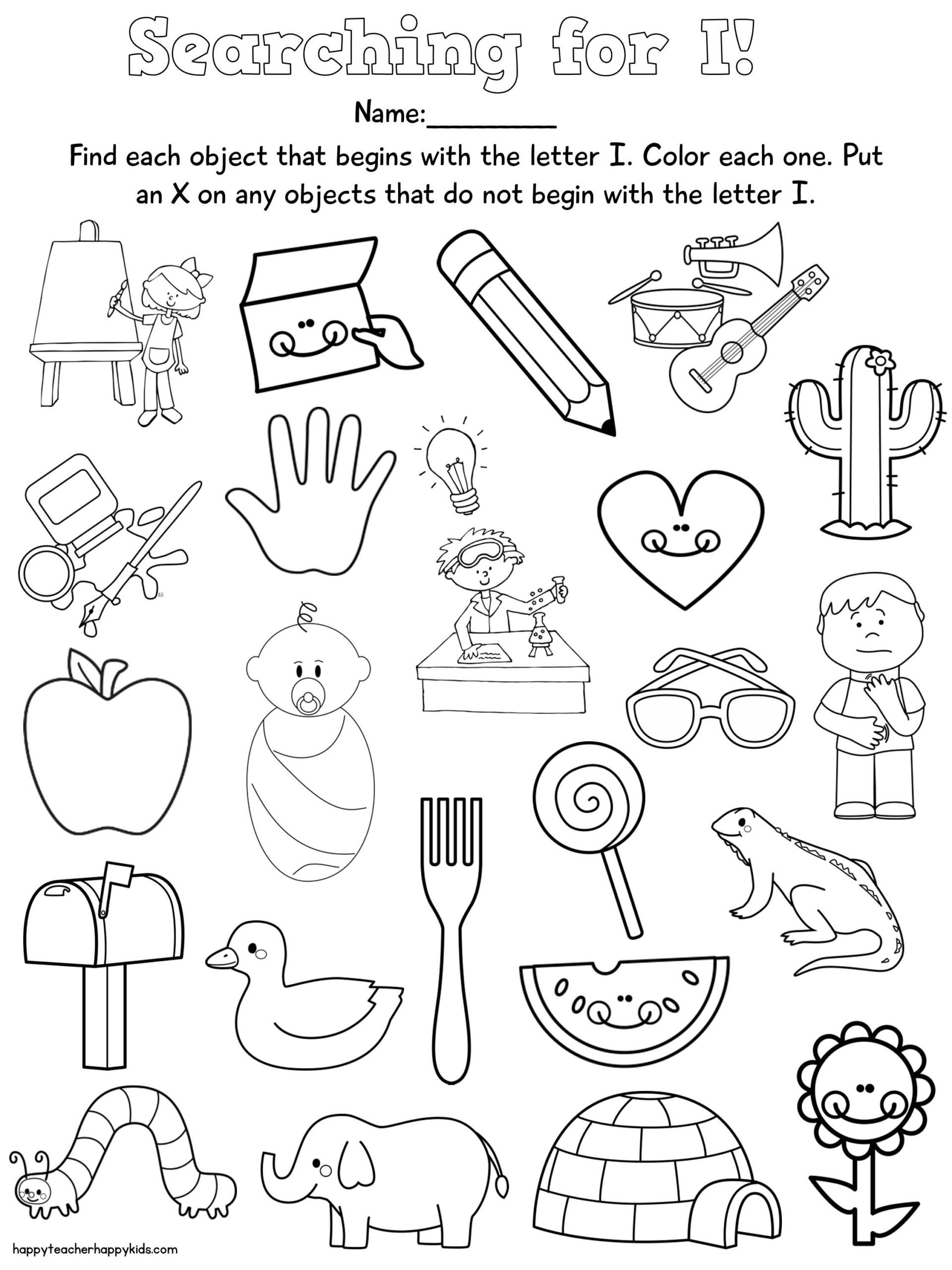 Rhyming Worksheets for Preschool Letter Free Preschool Learning Letters Nursery Rhymes