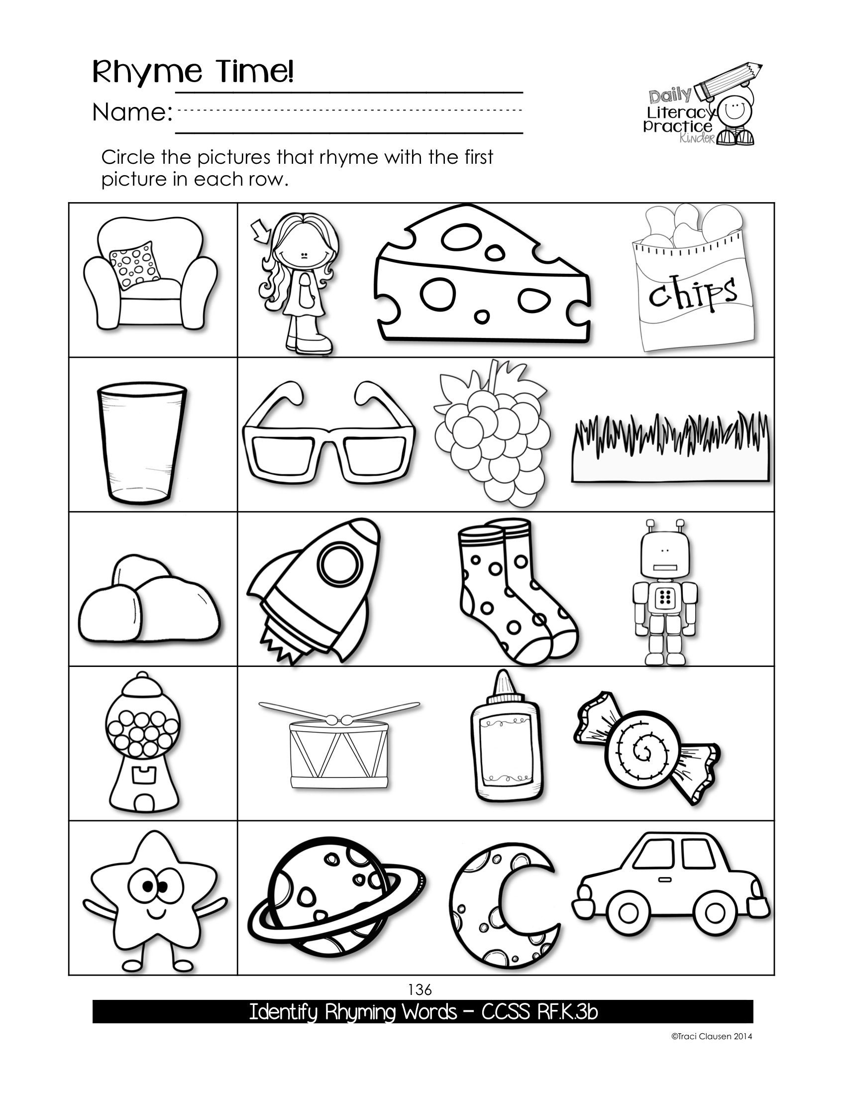 Rhyming Worksheets for Preschoolers Worksheets Numbers 1 to 100 Kids Trace Numbers to 20