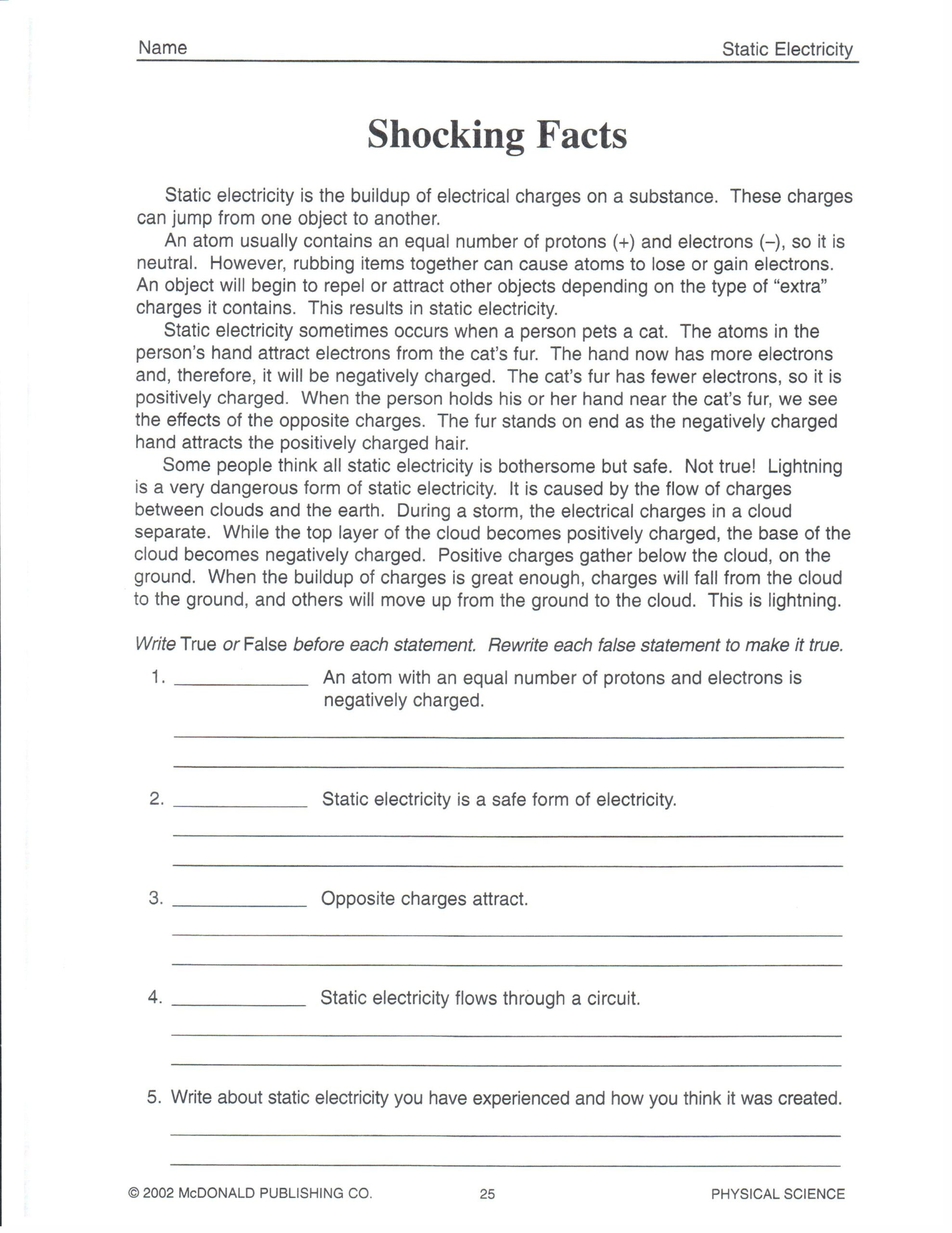 Science Worksheets for 8th Grade 4th Grade Math Money Worksheets Year 2 English Worksheets