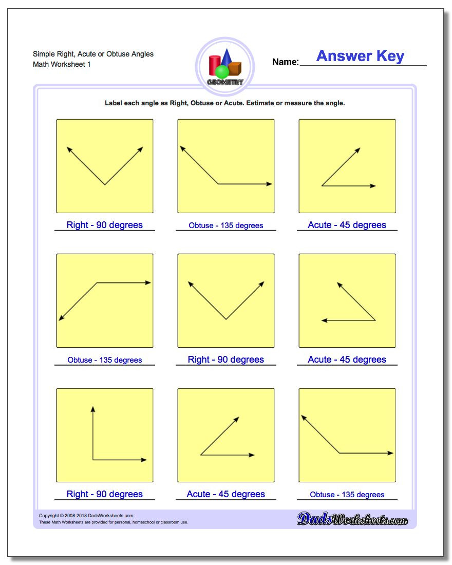 Second Grade Geometry Worksheets Basic Geometry