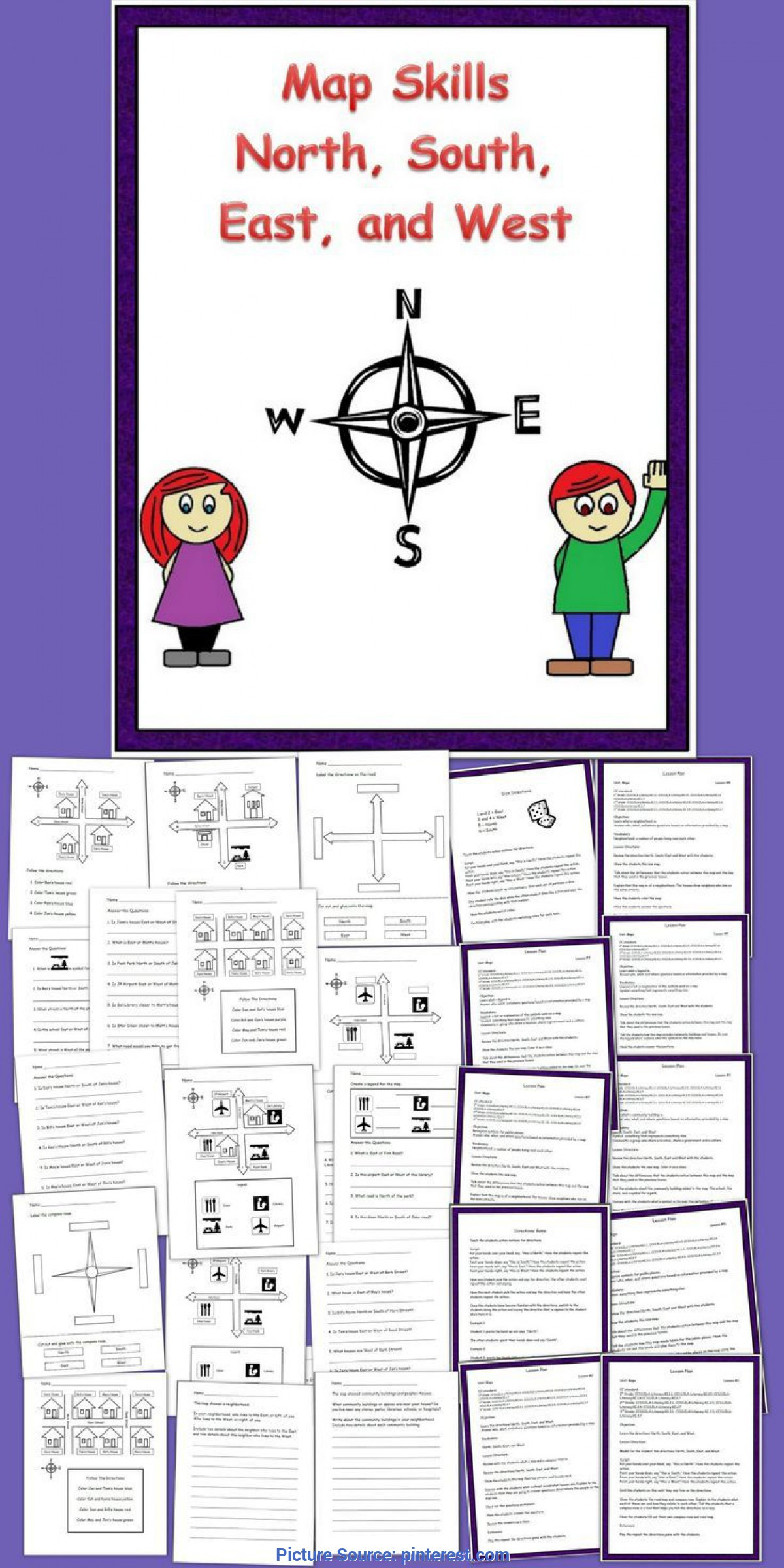 Second Grade Map Skills Worksheets Typical 2nd Grade Map Skills Lesson Plans A Second Grade