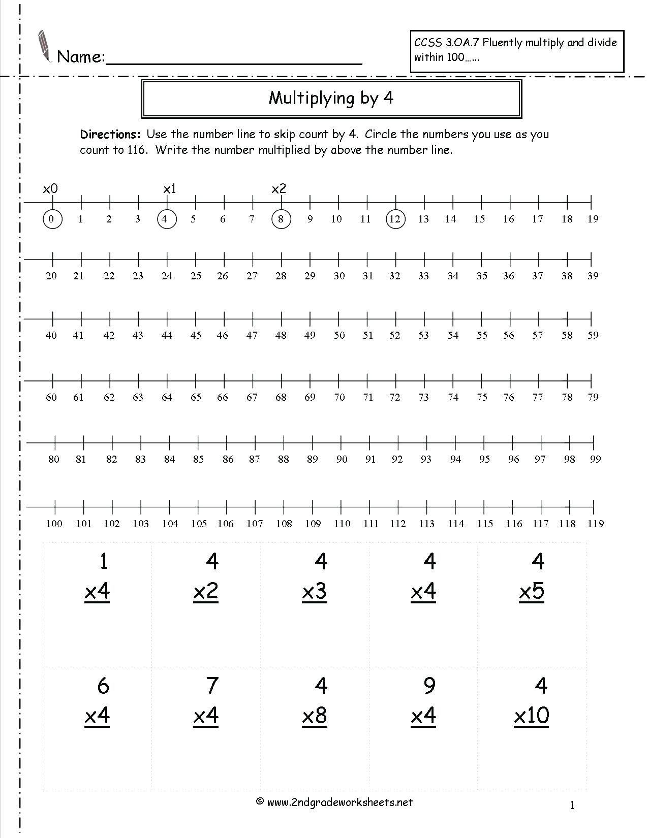 Second Grade Number Line Worksheets 4 Reading Prehension Worksheets Second Grade 2