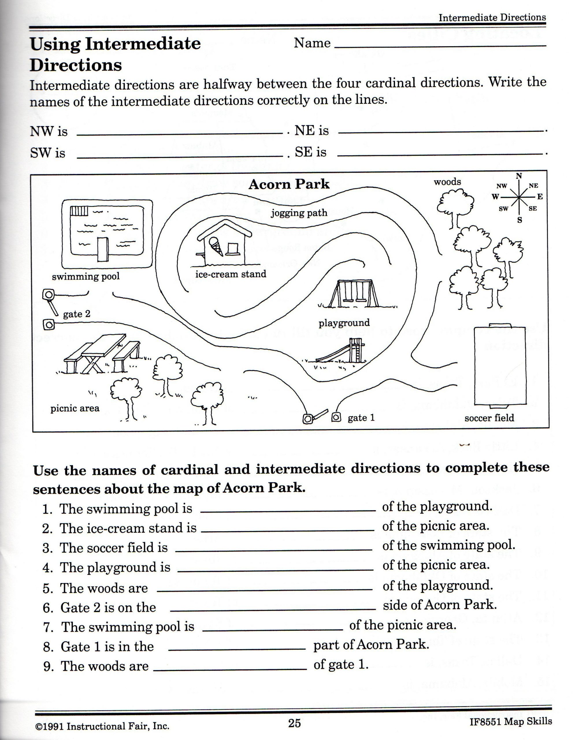 Second Grade social Studies Worksheets 21 Awesome Following Directions Worksheet for You