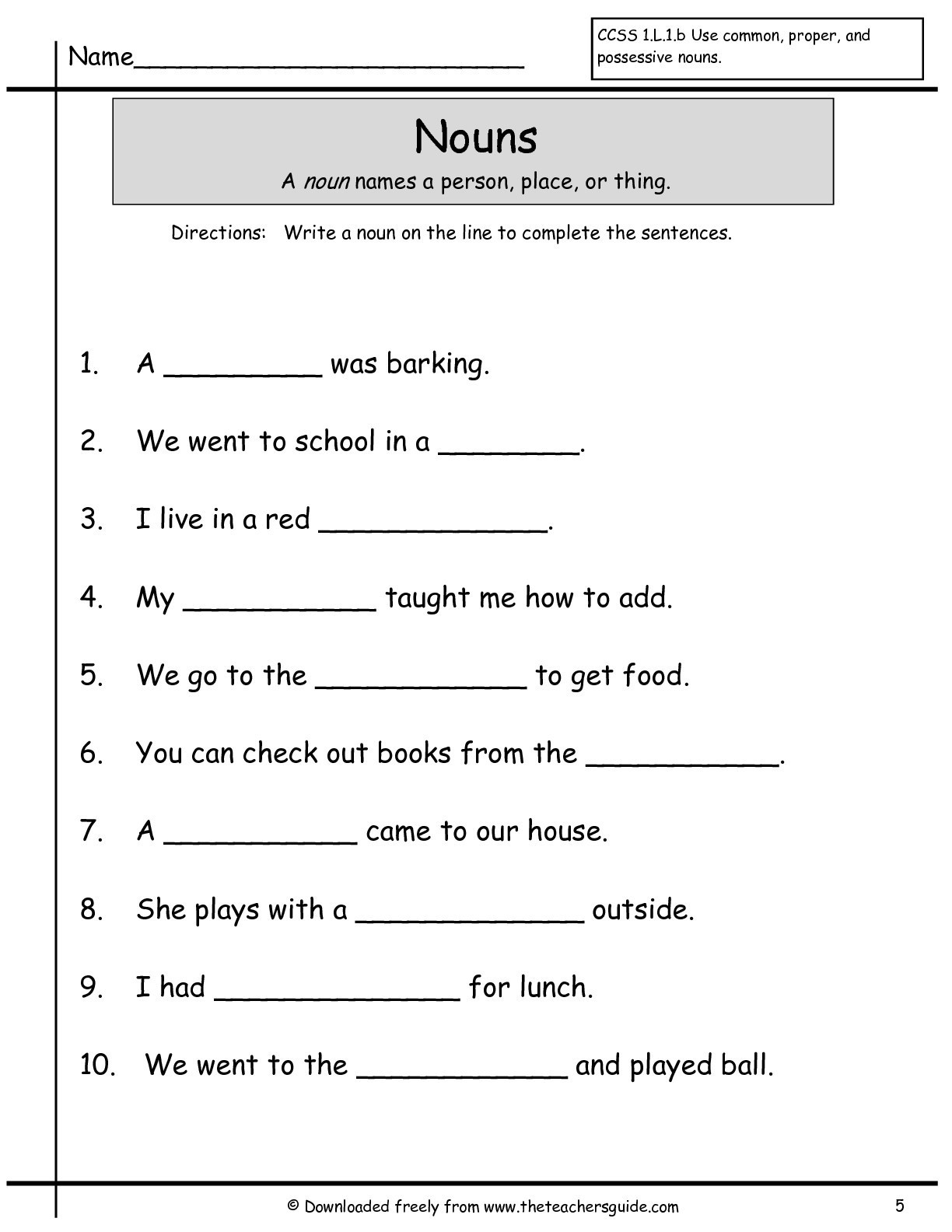 Sentence Worksheets for First Grade Math Worksheet 52 Fantastic Writing Sentences Worksheets