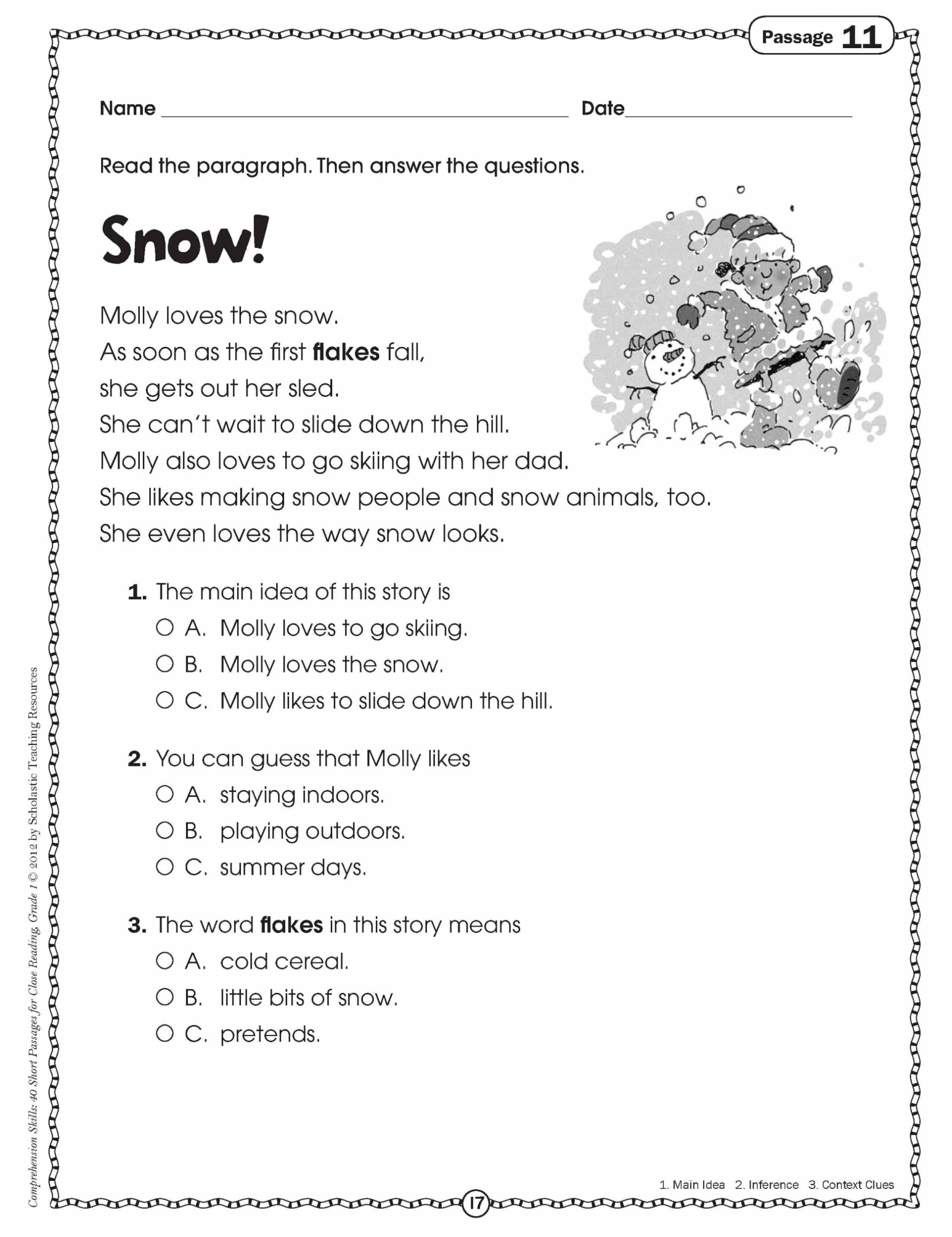 Sequence Worksheets for 3rd Grade Math Worksheet 42 Incredible Third Grade Reading