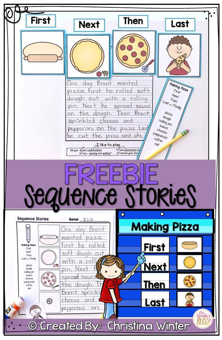 Sequencing Worksheets for 2nd Grade Sequence Writing Prompts Free