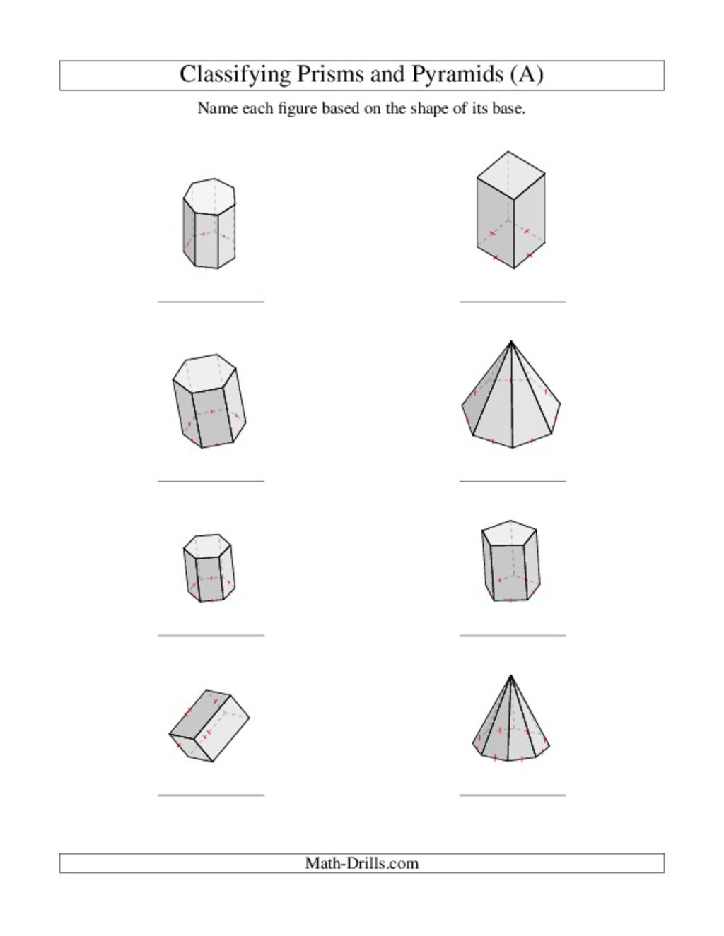 Sorting Shapes Worksheets First Grade 3d Shapes Lesson Plans & Worksheets Reviewed by Teachers