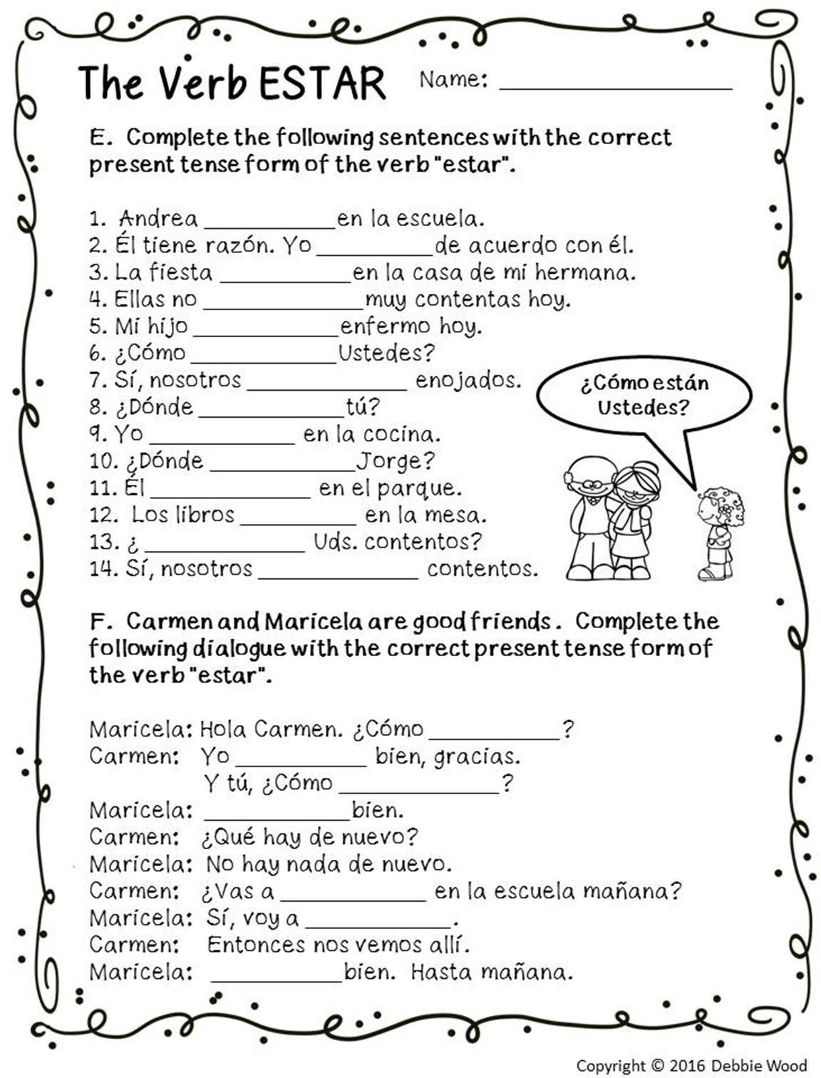 ESTAR with Emotions Estar Posters and Worksheets
