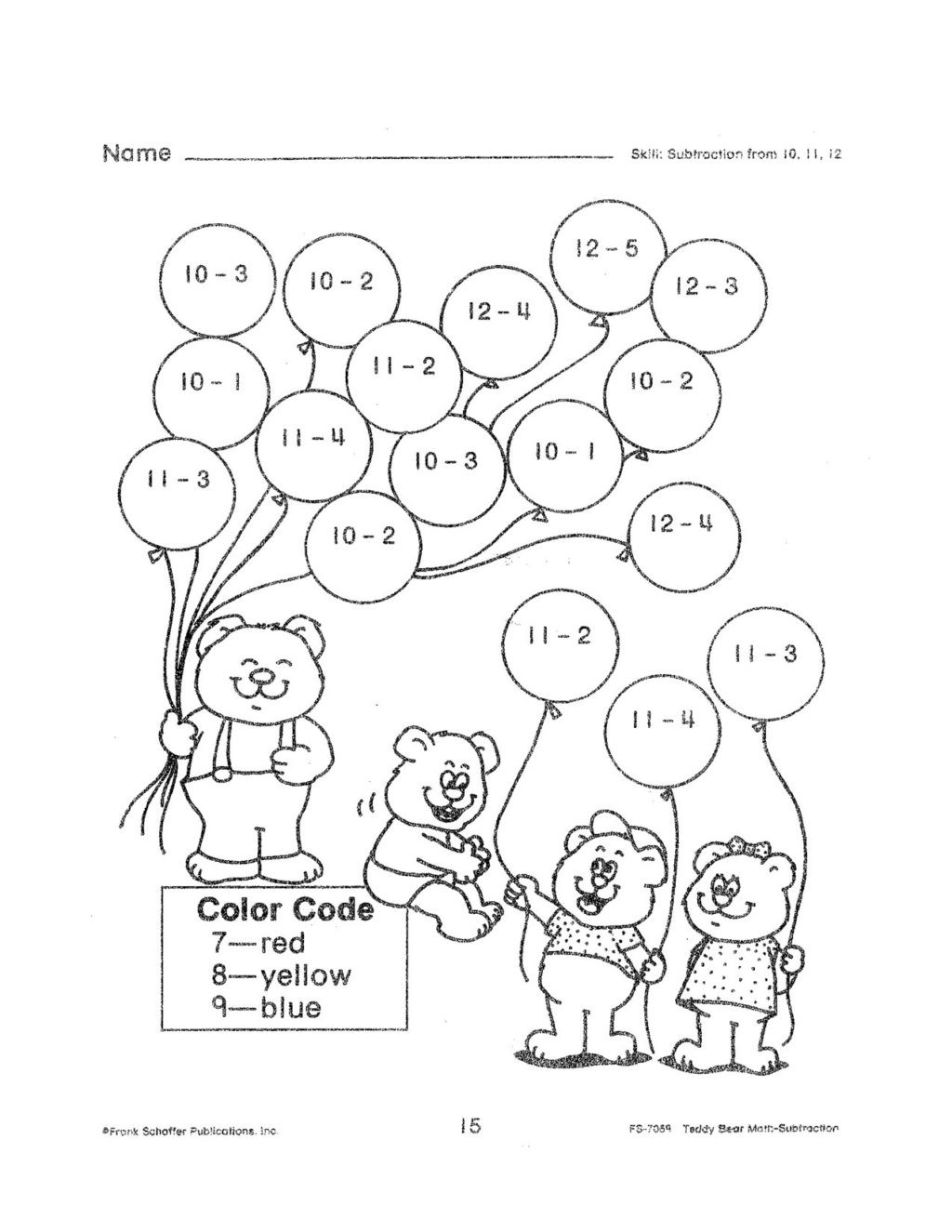 Subtraction Coloring Worksheets 2nd Grade Math Worksheet Fantastic Math Activities for Second Grade