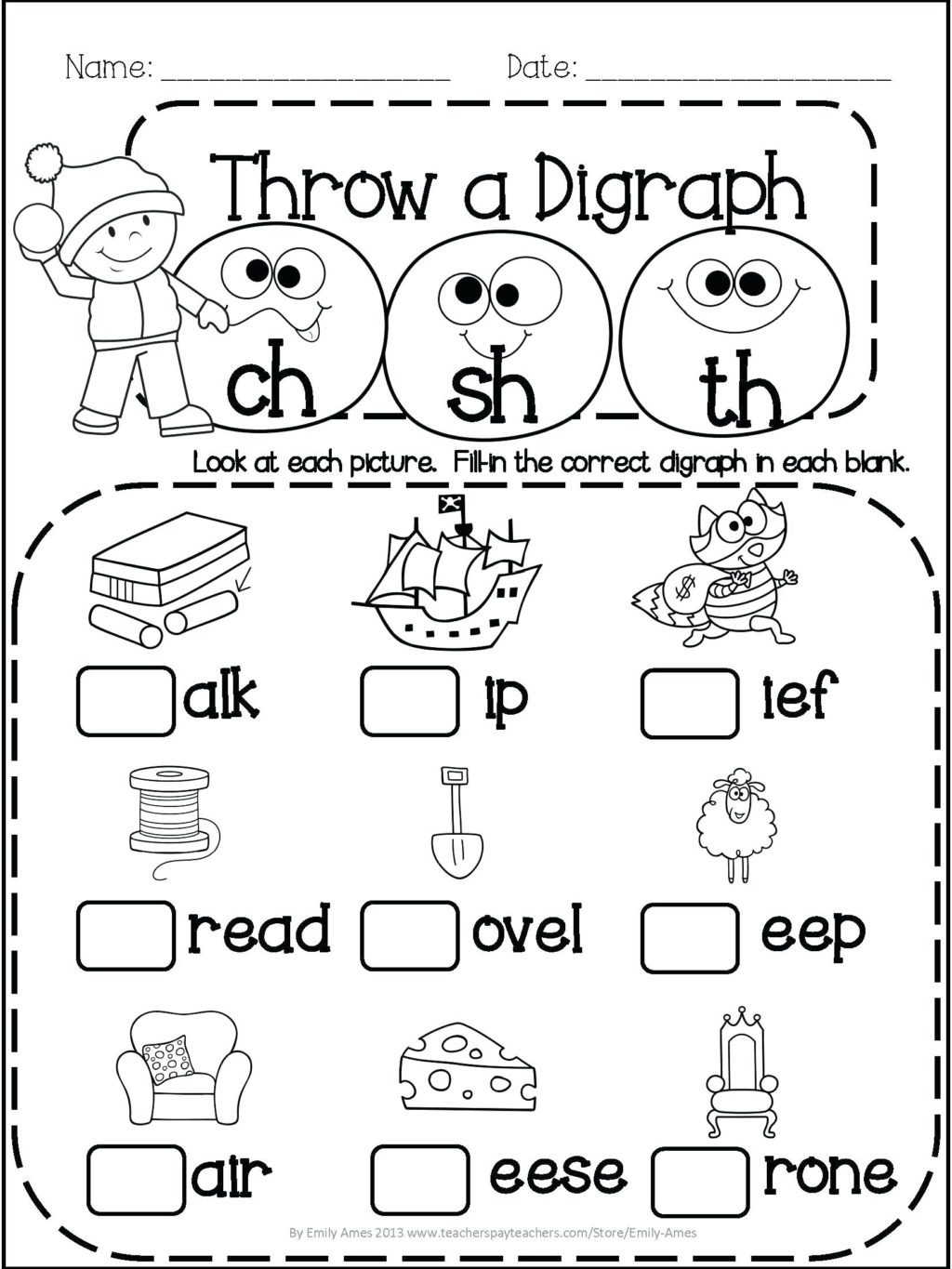 Subtraction Worksheet for 1st Grade Worksheet First Grade Worksheetsintable Math Games for