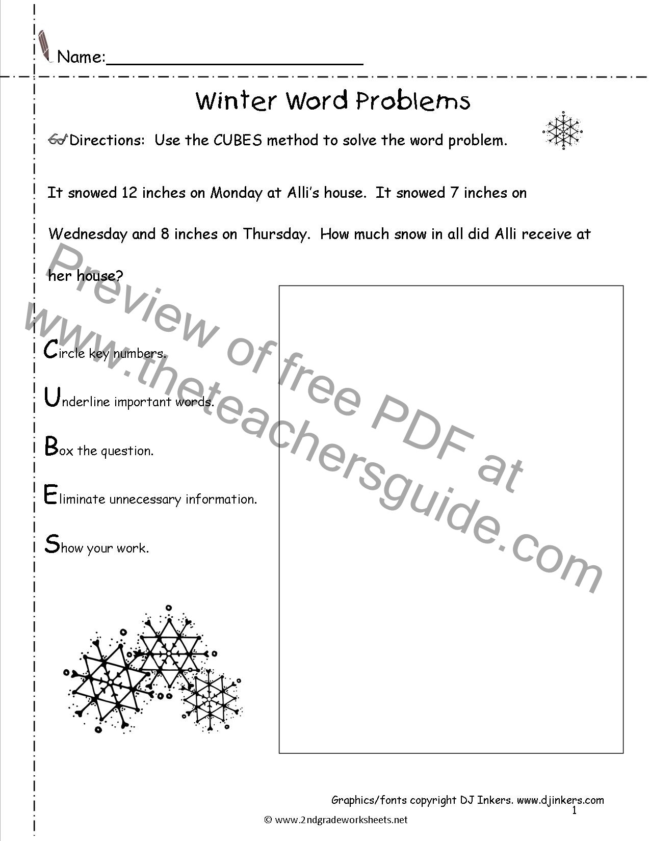 Theme Worksheets for 5th Grade Winter Lesson Plans themes Printouts Crafts
