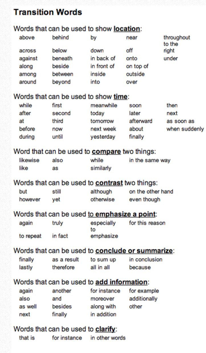 Transition Words Worksheets 4th Grade Pin by Loriann Martin On Middle School Writing