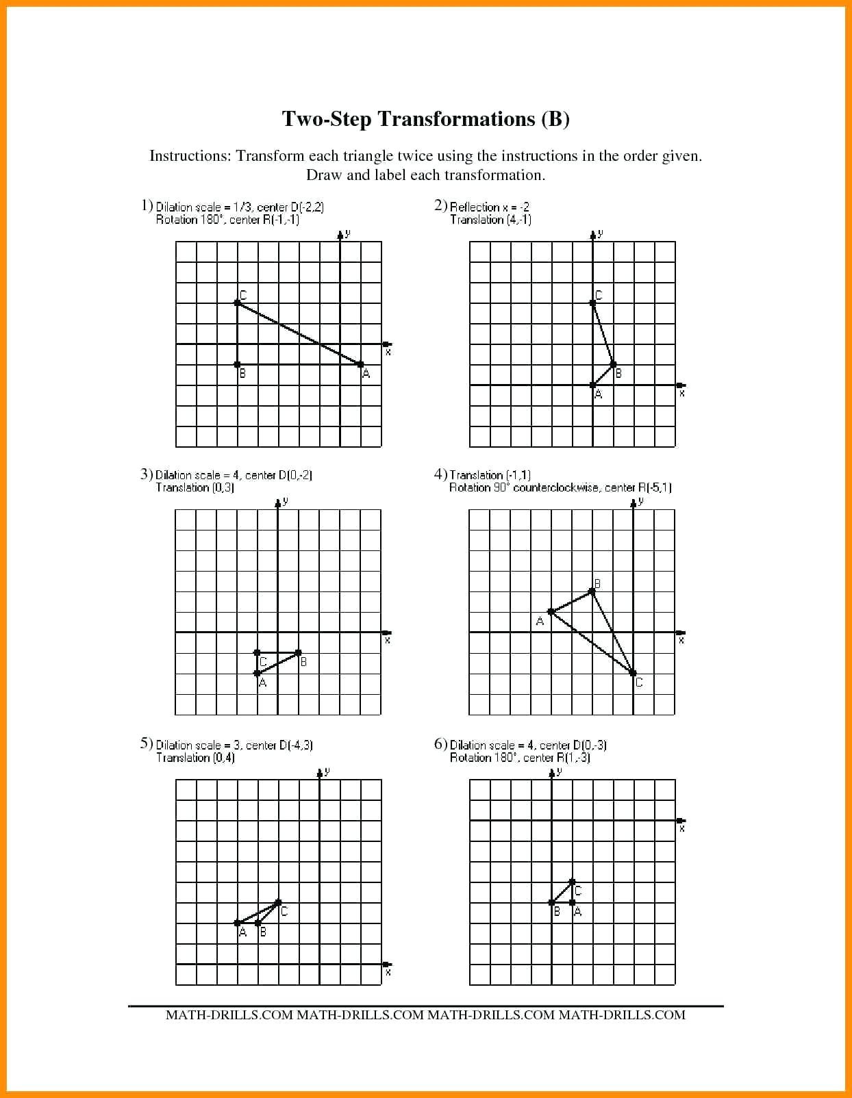 Translations Worksheets Math 3 Free Math Worksheets Third Grade 3 Subtraction Subtract