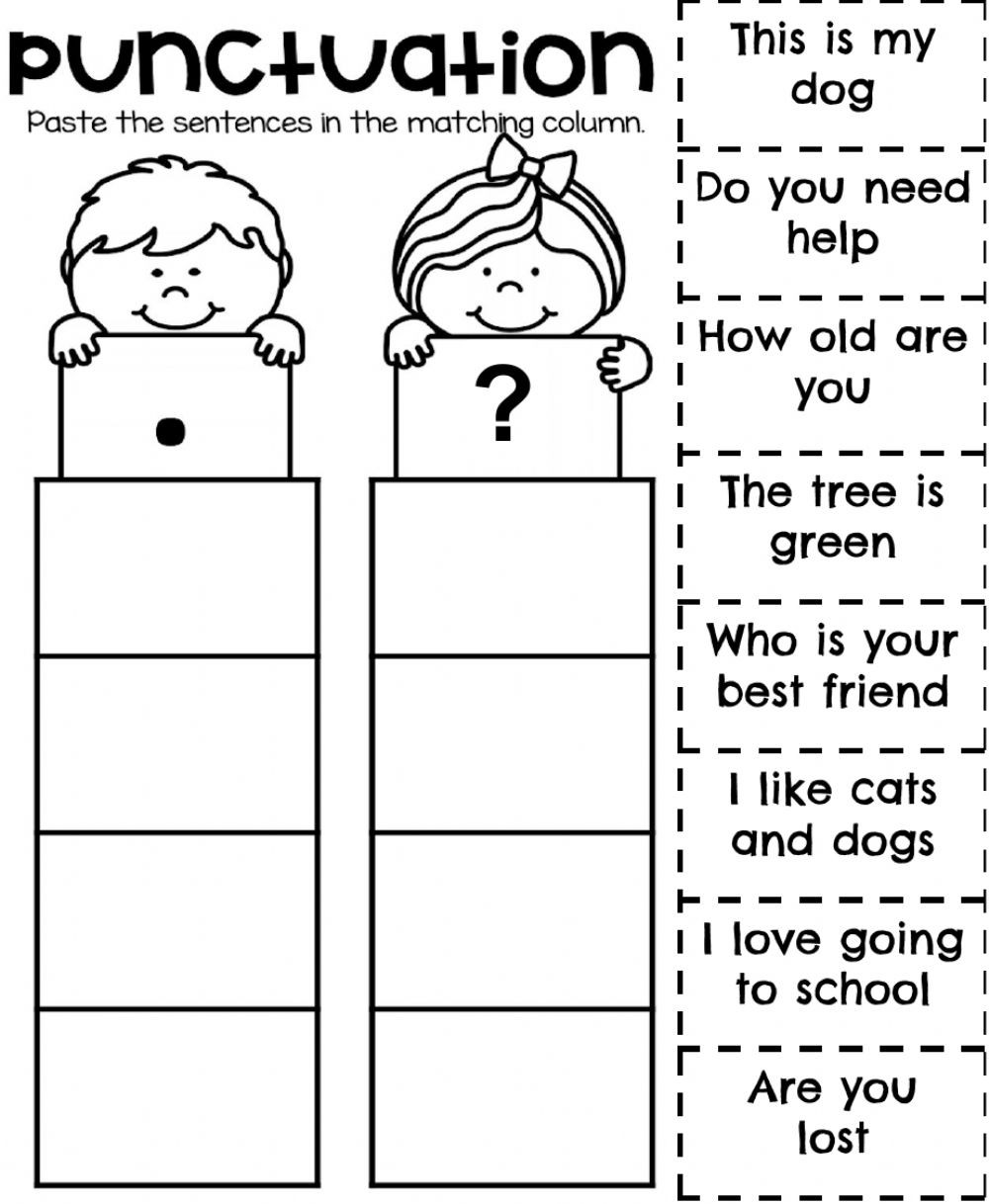 Unscramble Sentences Worksheets 1st Grade W36 Grammar 1 Interactive Worksheet