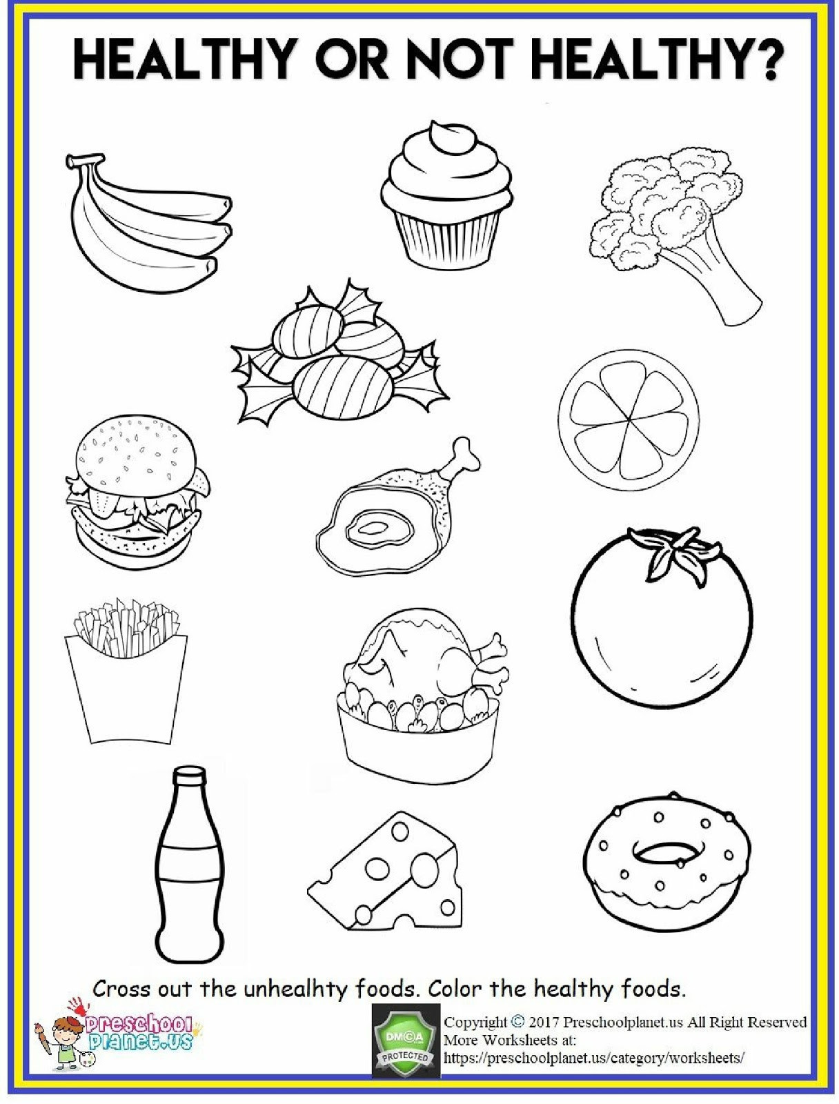 Vegetable Worksheets for Preschool 4 Food Worksheets Preschool Fruits and Ve Ables