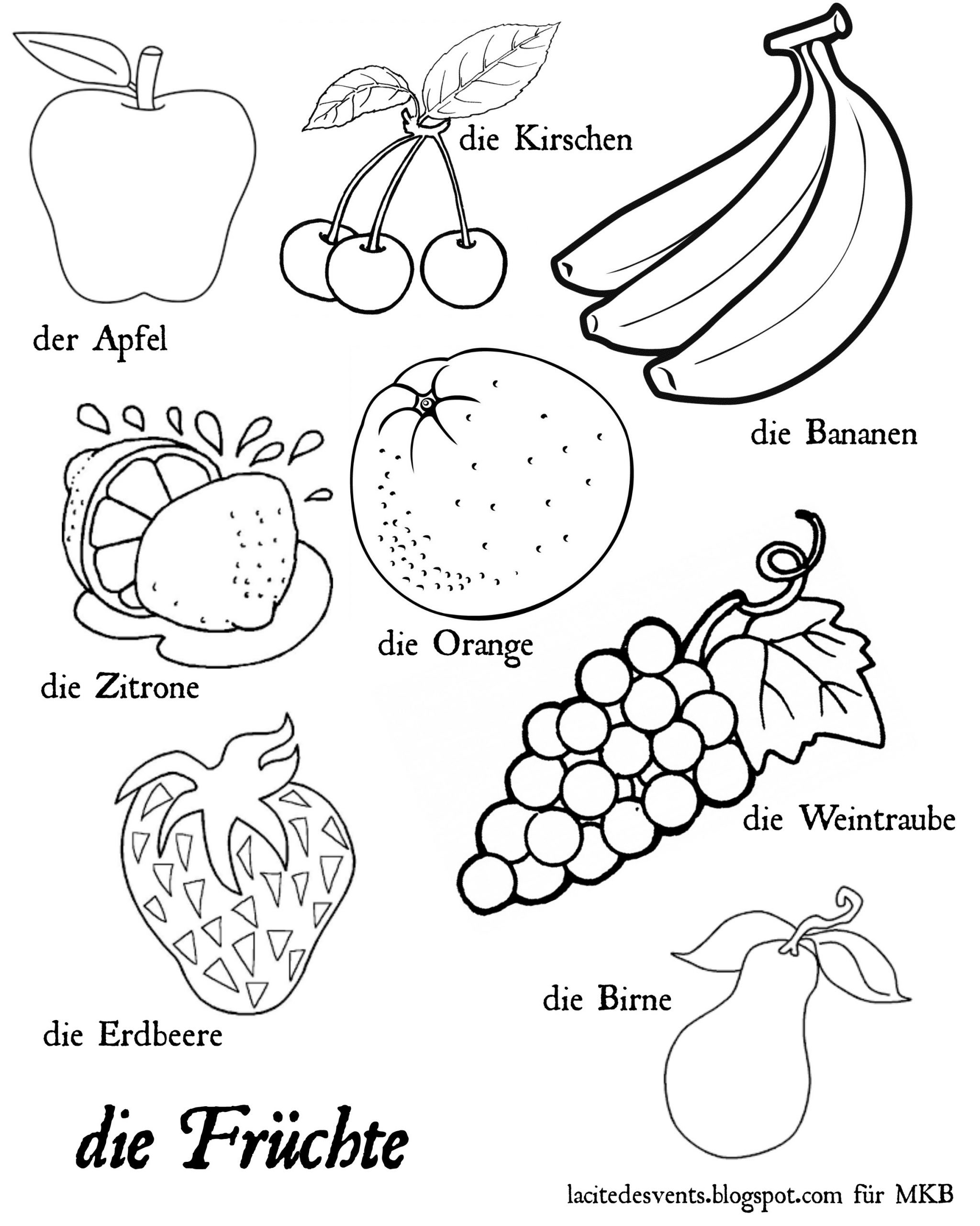 Vegetable Worksheets for Preschool Coloring Fruits andes Free Worksheets for Kindergarten
