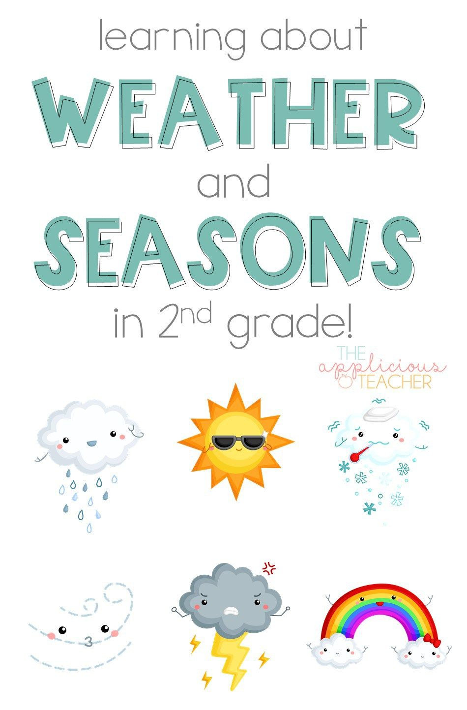 Weather Worksheets for 2nd Graders Learning About the Weather and Seasons In 2nd Grade the