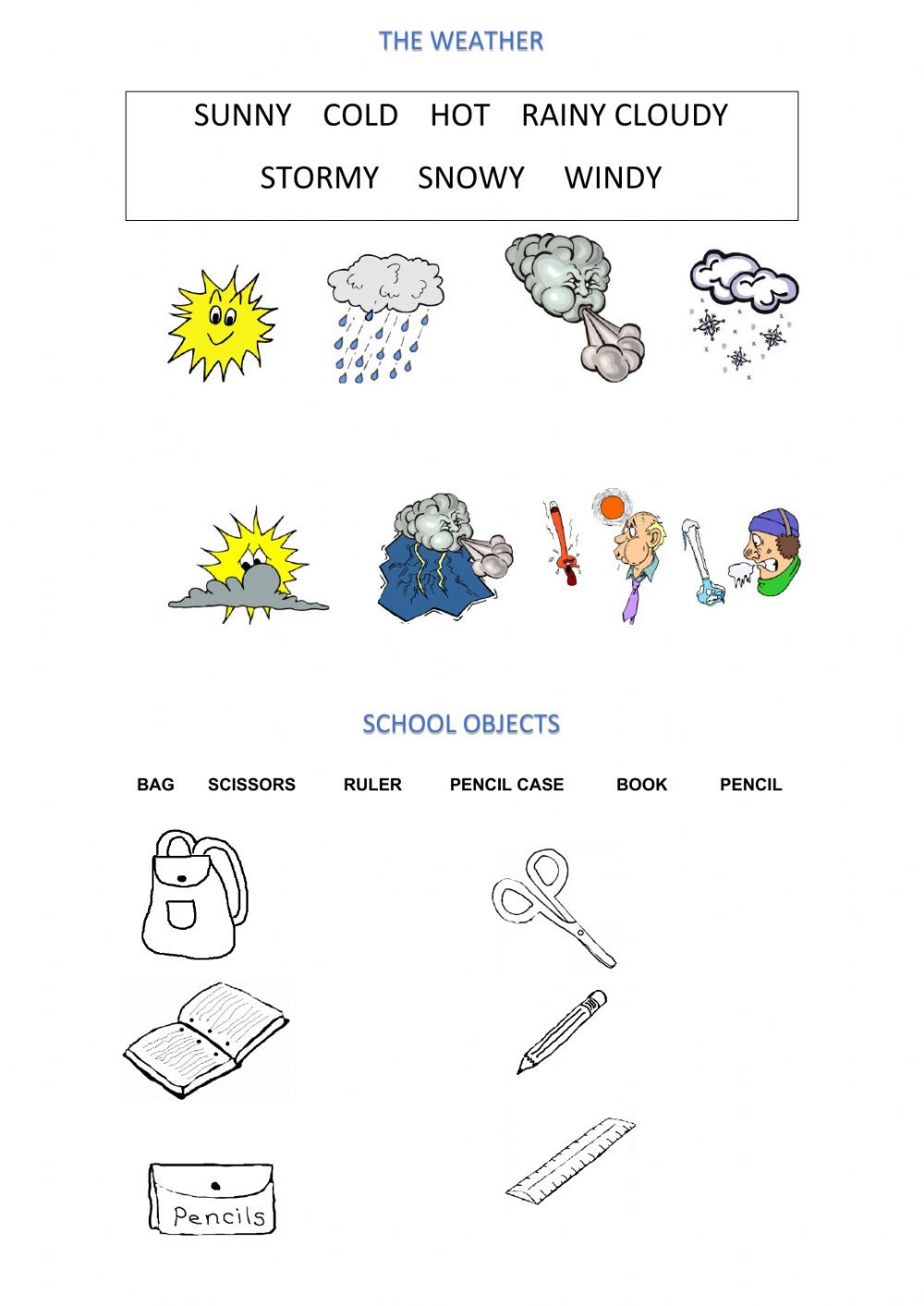 Weather Worksheets for 2nd Graders Revision 2nd Grade Interactive Worksheet