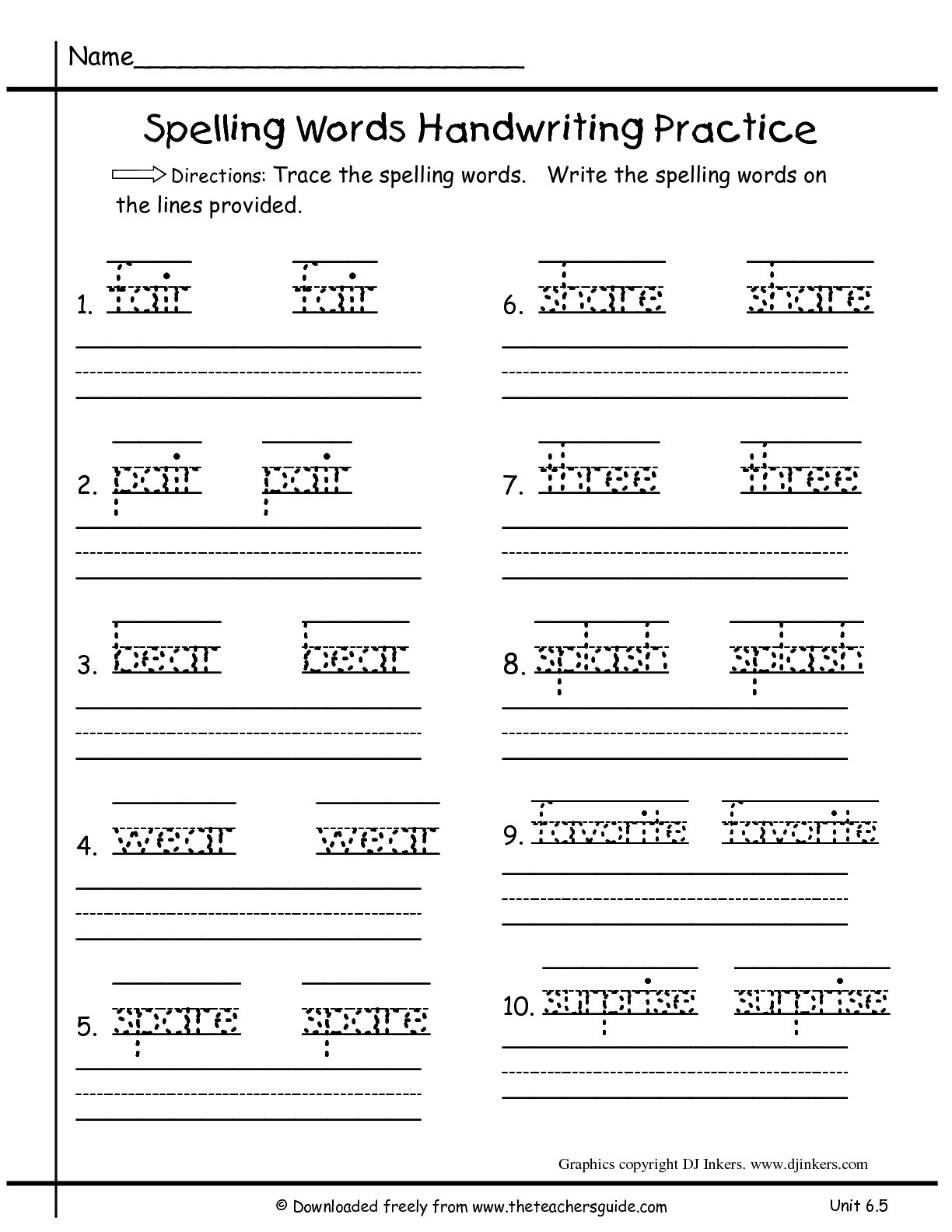 Worksheets for First Grade Writing Math Worksheet Wonders First Grade Unit Four Week Five