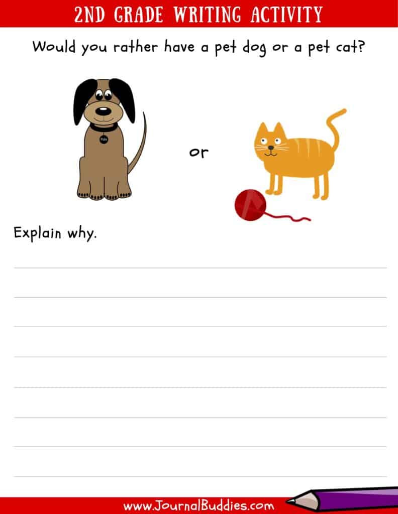 Writing Worksheet 2nd Grade Writing Worksheets for 2nd Grade • Journalbud S