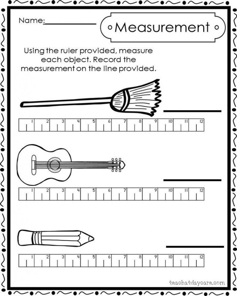 2nd Grade Measurement Worksheets Pin On Print Outs for Homeschool