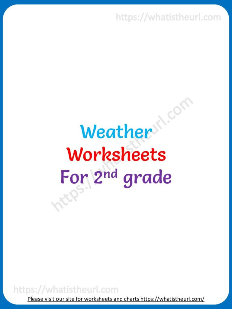 2nd Grade Weather Worksheets Weather Worksheets for Grade 2 Your Home Teacher
