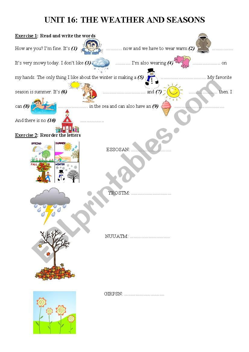 2nd Grade Weather Worksheets Worksheet Worksheetsor Graderee Short Story with Questions