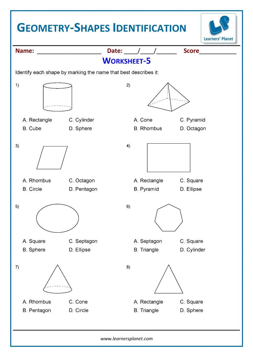 3rd Grade Geometry Worksheets Pdf Cbse Class 3 Geometry Worksheets Online Math Practice Tests