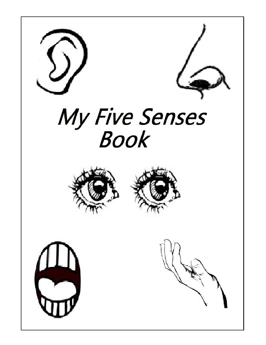 5 Senses Worksheet Preschool 5 Senses Worksheets for Kindergarten – Worksheet for Kids