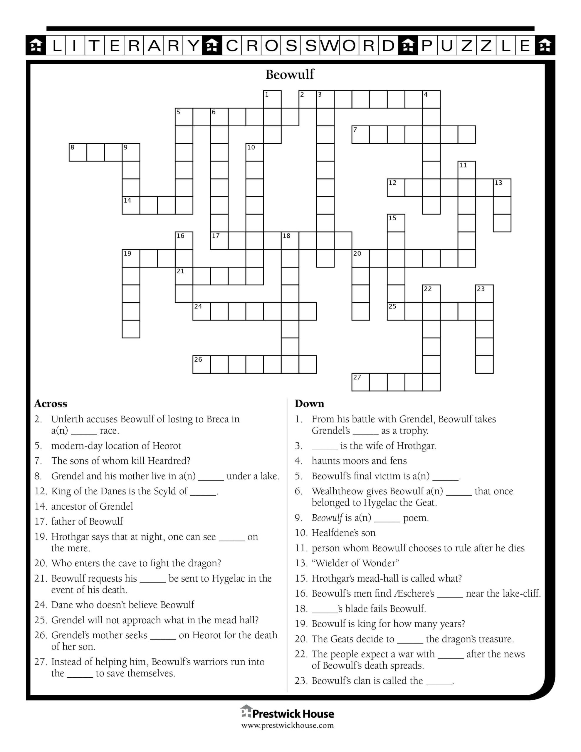 6th Grade Math Crossword Puzzles Free Crossword Puzzles English Teacher Library the Daring