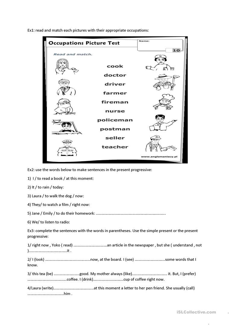 for the 7th grade English ESL Worksheets for distance