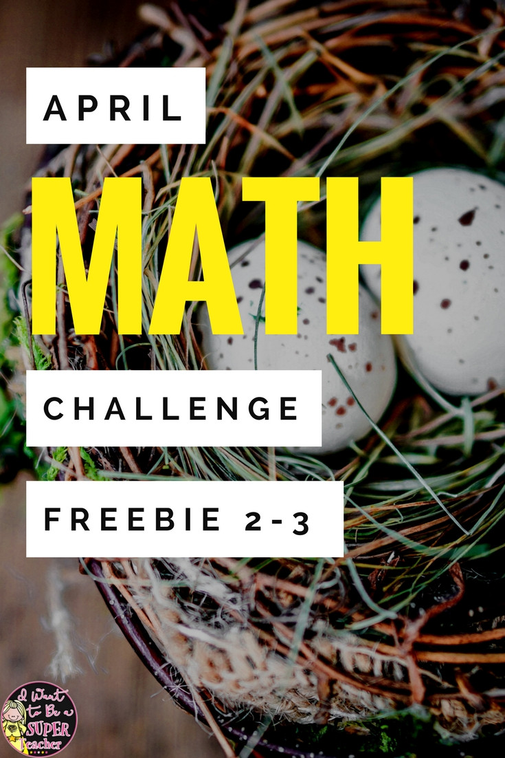 7th Grade Math Enrichment Worksheets Free for Spring Chocolate Bunny Math Challenges I Want to