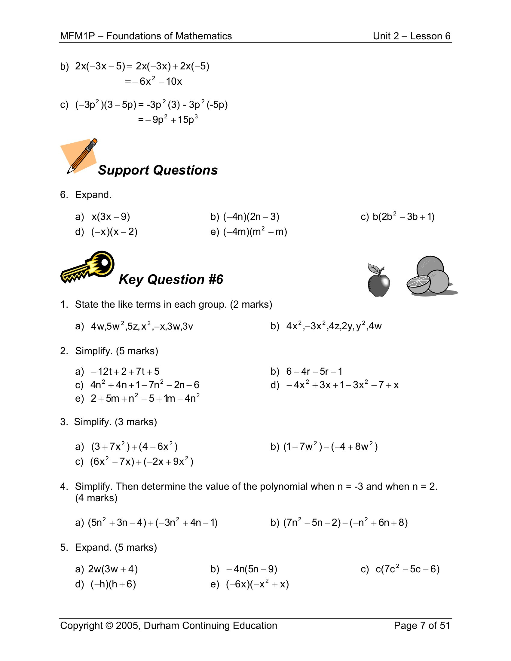 9th Grade Printable Worksheets Grade Math Worksheets Printable and Activities for 9th