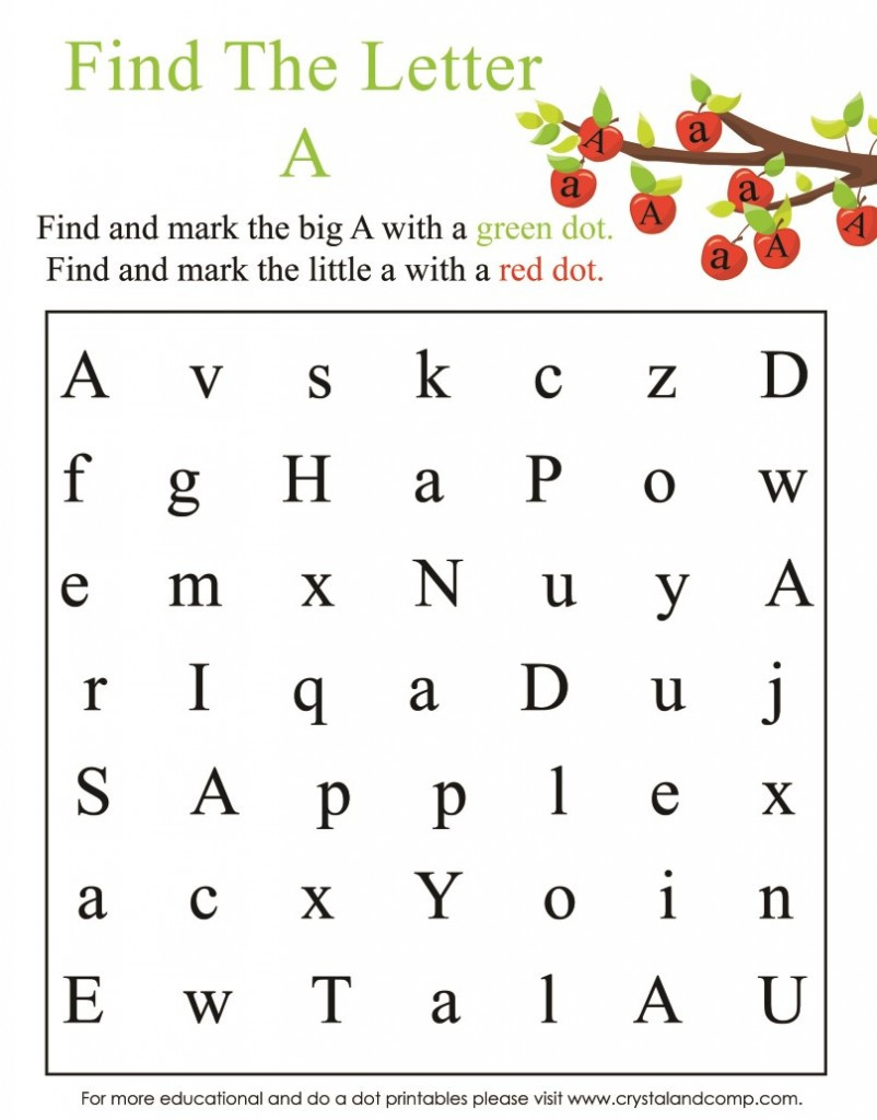 Apple Worksheets Preschool A is for Apple Preschool Worksheets
