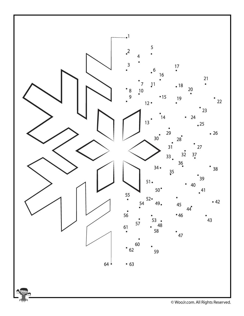 Christmas Connect the Dots Printables Christmas Connect the Dots Worksheets