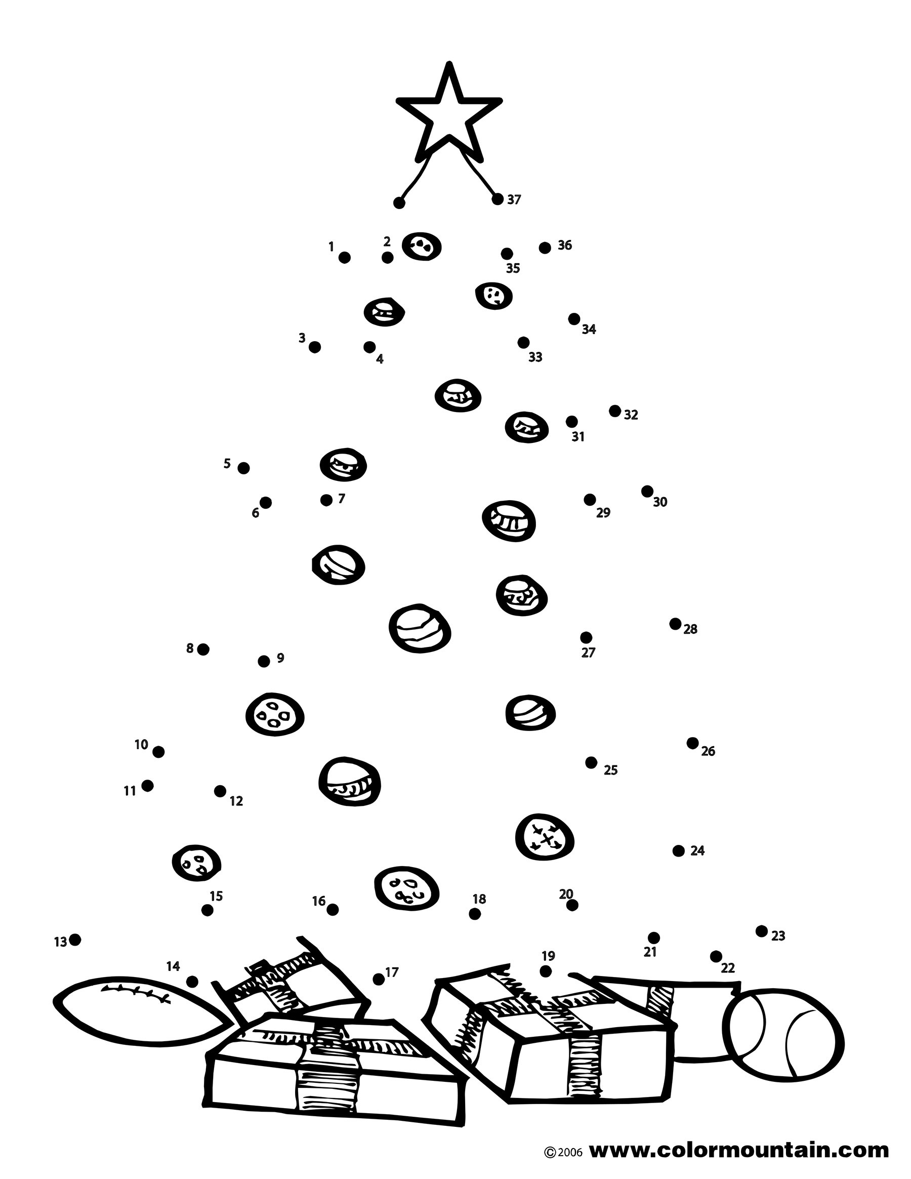 Christmas Dot to Dot Printables Coloring Book Yck4lenoi Dot to Coloring Pages Color by