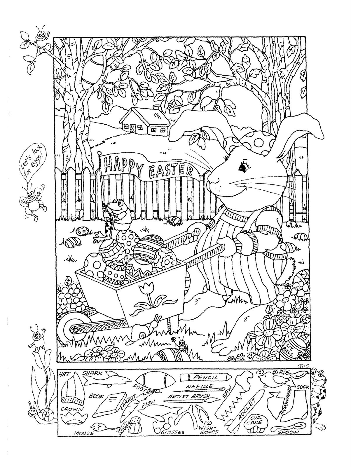 Christmas Hidden Picture Puzzles Printable Free Printable Hidden Picture Worksheet