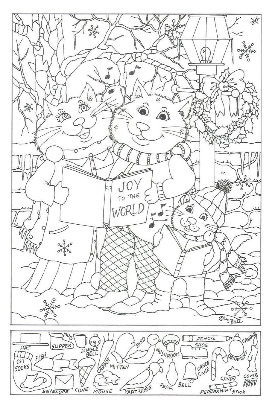 Christmas Hidden Pictures Printable Kids Holiday Crafts Valentine S Day In 2020